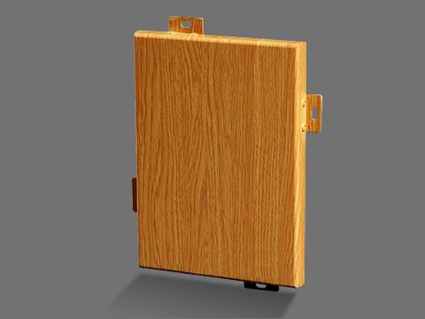 木纹氟碳铝单板