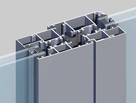 构件式幕墙铝单板