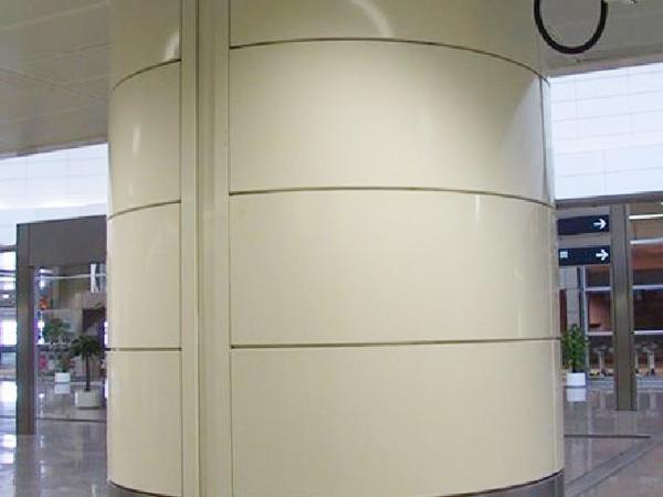 铝单板包柱